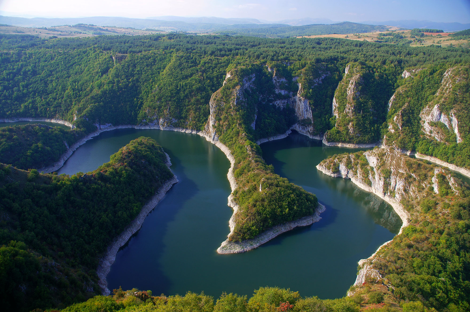 Kanion Uvac, Serbia
