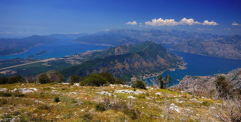 Widokowa trasa P1 nad Boką Kotorską
