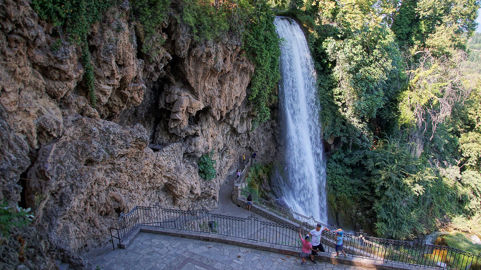 Wodospady w Edessa