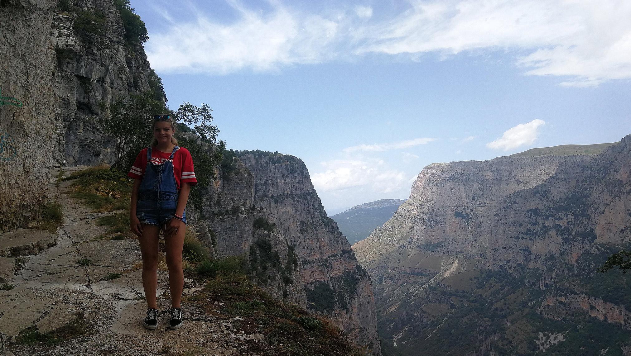 Oxya Viewpoint – punkt widokowy na Wąwóz Vikos