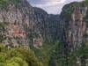 Punkt widokowy na Wąwóz Vikos za monastyrem św Paraskevi